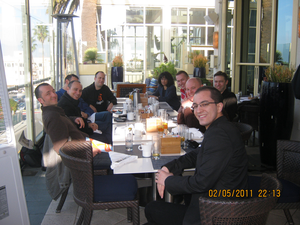 Magento Community Breakfask in Santa Monica