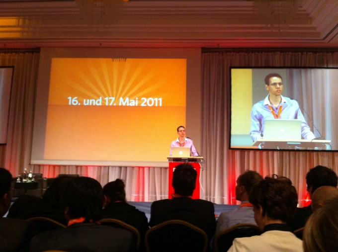 Intro zur 5. Meet Magento von Rico Neitzel, deutscher Magento Community Manager