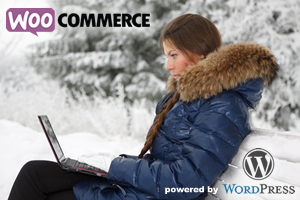 WooCommerce powered by WordPress