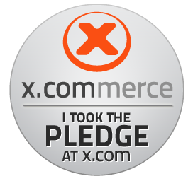 x.commerce pledge