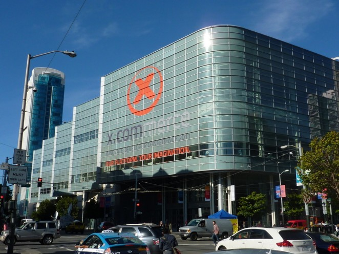 X.Commerce Developer Konferenz im Moscone West in San Francisco