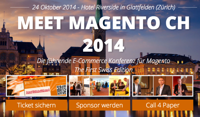 Meet Magento Schweiz Oktober 2014