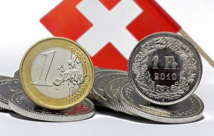 euro und schweizerfranken