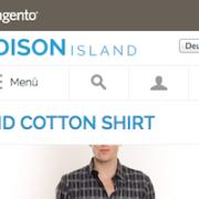 Magento Repsposive Web Design Default Theme