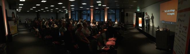 Ben Marks at Meet Magento Switzerland 2014