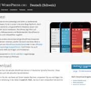 WordPress Deutsch (Schweiz)