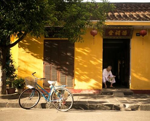 Zeitunglesen in China