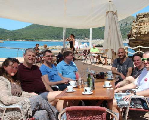 Openstream Team Meetup Mallorca 2016
