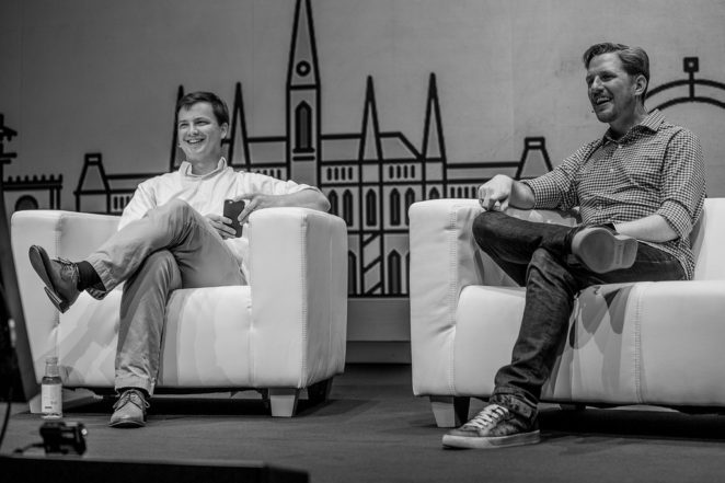 Matt Mullenweg Q&A beim WordCamp Europe 2016