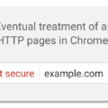 chrome-not-secure-message